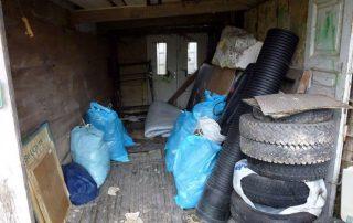 Čiščenje garaže