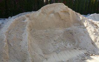Pesek za zidanje in ometavanje - Prevoz Klemen